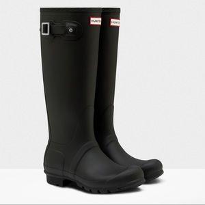 Hunter Boots | Tall | non-adj. | black